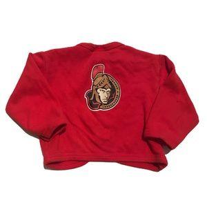 🧚♀️4/$25 NHL Ottawa Senators Baby Cardigan 6M